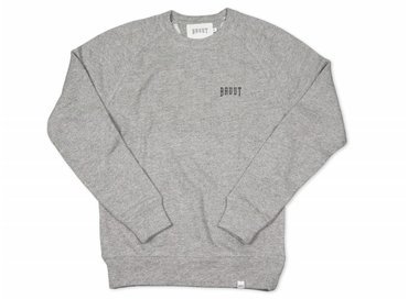 Bruut Crewneck Grey Black 1009