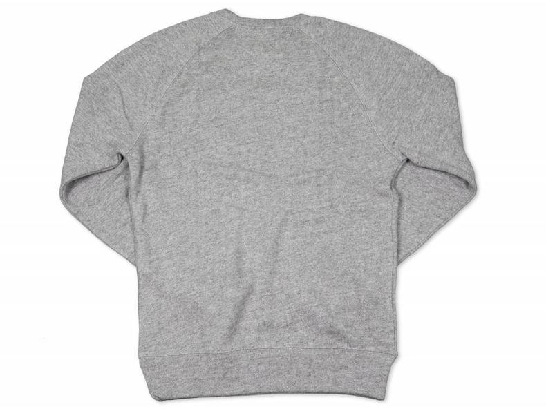 Crewneck Grey Black 1009