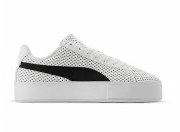 Puma x Daily Paper Court Platform K White Black 363457 02