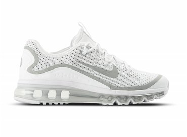 Nike Air Max More White Metallic Silver 898013 100