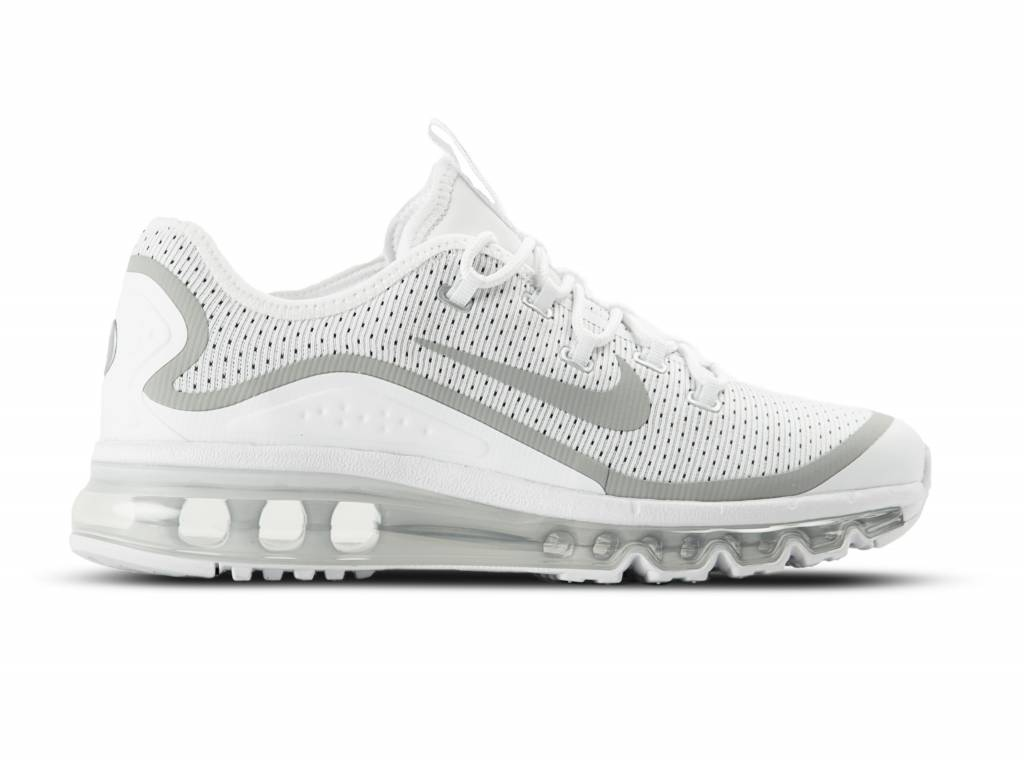Air Max More White Metallic Silver 898013 100