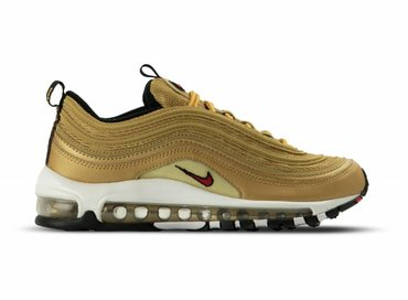 Nike Air Max 97 OG QS Metallic Gold Varsity Red 884421 700