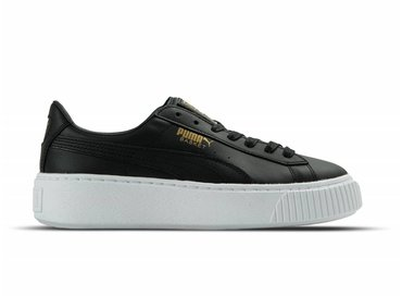 Puma Basket Platform Core Black Gold 364040 03