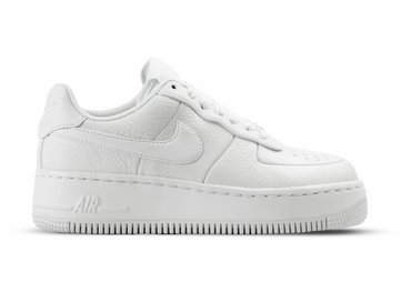 Nike W Air Force 1 Upstep White White Black 917588 100