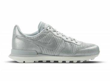 Nike W Internationalist PRM Metallic Platinum Pure Platinum 828404 008