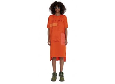 Daily Paper Orange Jane Patch Dress SS17WD25