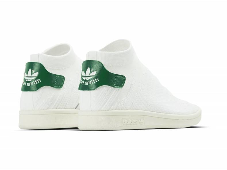 Stan Smith Sock PK W White White Green BY9252