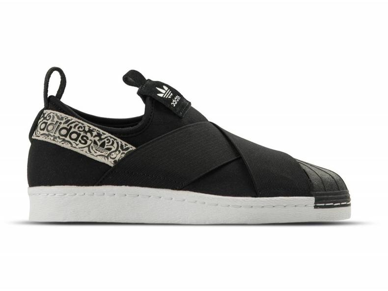 Adidas Superstar SlipOn W Black Black White BY9142 - Bruut Online ... c184d8c5e