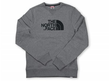 The North Face Drew Peak Crew Medium Grey T92ZWRJBV