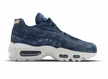 Nike Air Max 95 PRM Dark Obsidian Midnight Navy 807443 400