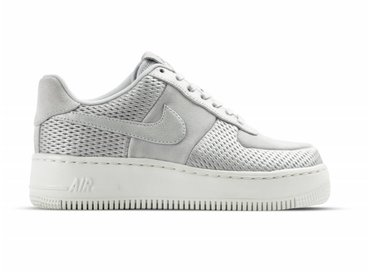 Nike W Air Force 1 Upstep PRM Metallic Platinum 917590 001