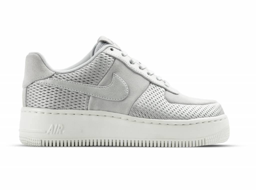 Nike W Air Force 1 Upstep PRM Metallic Platinum 917590 001