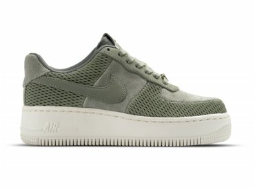 Nike W Air Force 1 Upstep PRM Dark Stucco 917590 002