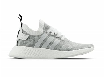 Adidas NMD R2 Primeknit Footwear White Core Black W BY9520