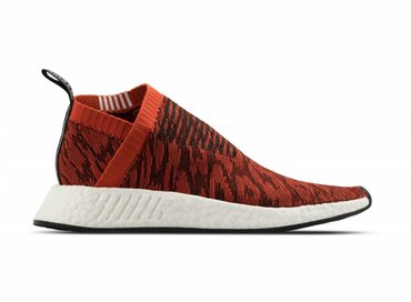 Adidas NMD CS2 Primeknit Harvest Red Core Black BY9406