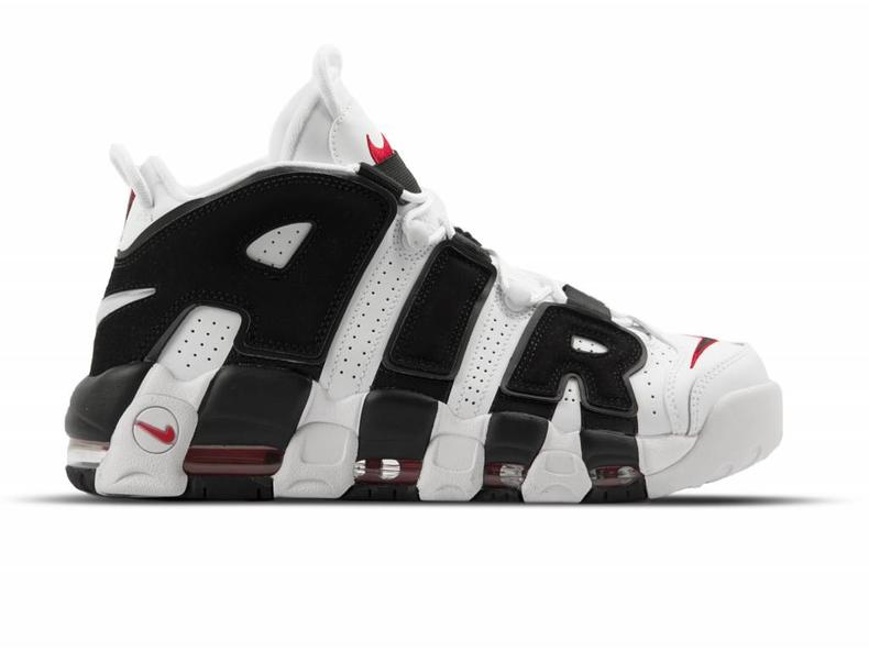 the best attitude 510e0 5ad50 Nike Air More Uptempo White Black University Red 414962 105