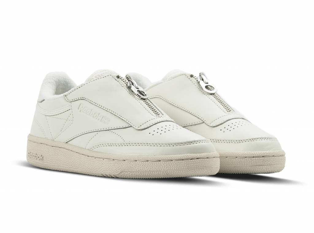 Reebok Club C 85 Zip Chalk Sandstone White BS6612