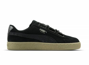 Puma Suede Heart Safari WN's Black Black 364083 03