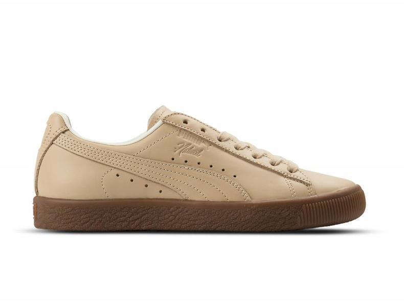Pumas Tan Clyde Veg Lo Sneaker Schoenen Naturel Ee cUGUMeXga