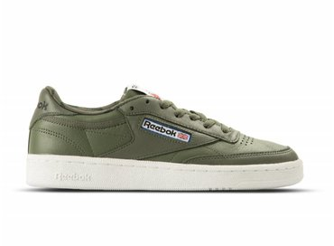 Reebok Club C 85 SO M Hunter Green Primal Red BS5211