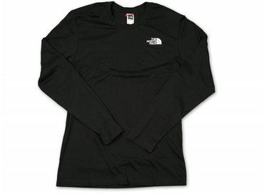The North Face L/S Easy Tee Black T92TX1JK3