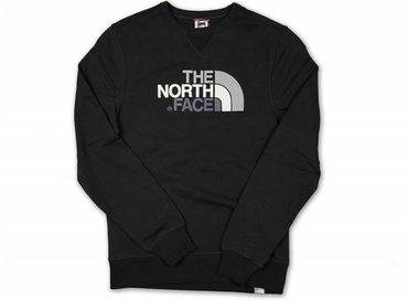 The North Face Drew Peak Crew Black T92ZWRJK3