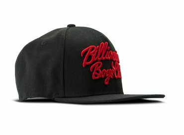 Billionaire Boys Club Script Logo Snapback Black B17369