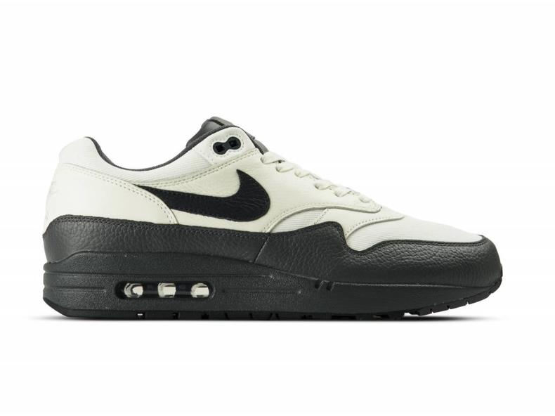 Air Max 1 PRM Sail Dark Obsidian Dark Grey 875844 100