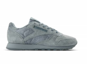 Reebok Classic Leather Lace W Meteor Grey White BS6522