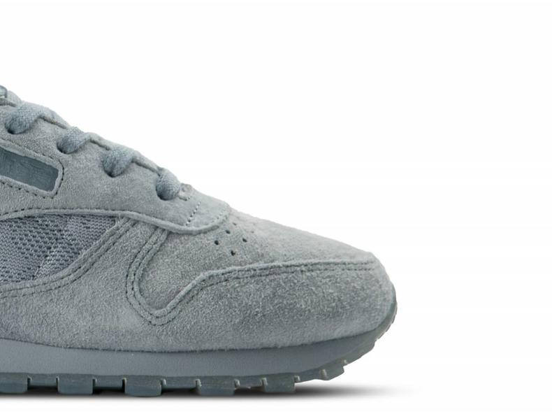Classic Leather Lace W Meteor Grey White BS6522