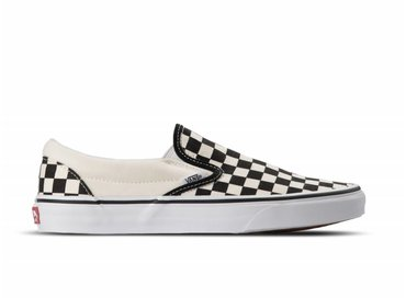Vans Classic Slip-on Bi Black White Checker White VN000EYEBWW