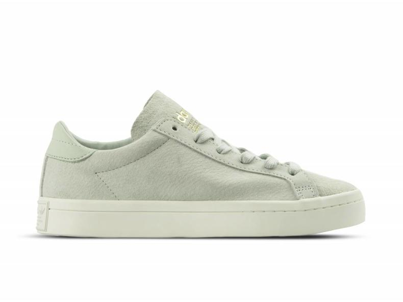 adidas courtvantage lino verde bz0430 bruut negozio online