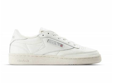 Reebok Club C 85 Vintage W Chalk Silver White Red BS8243