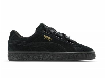 Puma Suede Heart Satin II WN's Black Black 364084 01