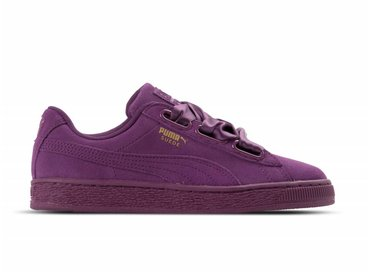 Puma Suede Heart Satin II WN's Dark Purple Dark Purple 364084 02