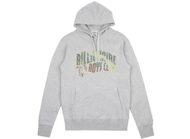 Billionaire Boys Club Space Camo Arch logo Popover Hood Heather Grey B17358