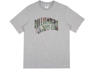 Billionaire Boys Club Space Camo Arch Logo T-Shirt Heather Grey B17354