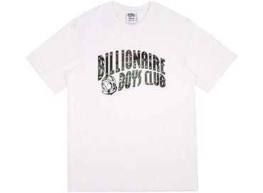 Billionaire Boys Club Space Camo Arch Logo T-Shirt White B17354