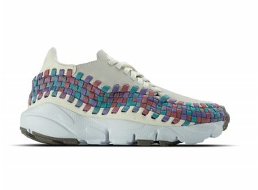 Nike WMNS Air Footscape Woven Sail White Red Stardust 917698 100