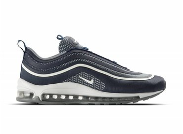 Nike Air Max 97 Ultra '17 Midnight Navy White Cool Grey 918356 400
