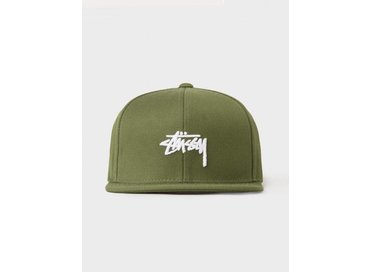 Stussy Stock FA17 Cap Olive 131745 0403