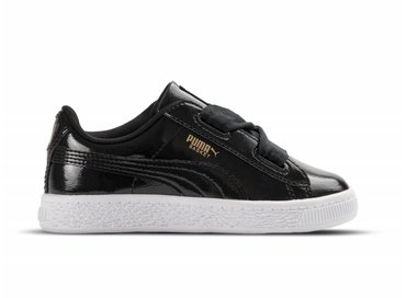 Puma Basket Heart Glam INF Black Black 363894 01