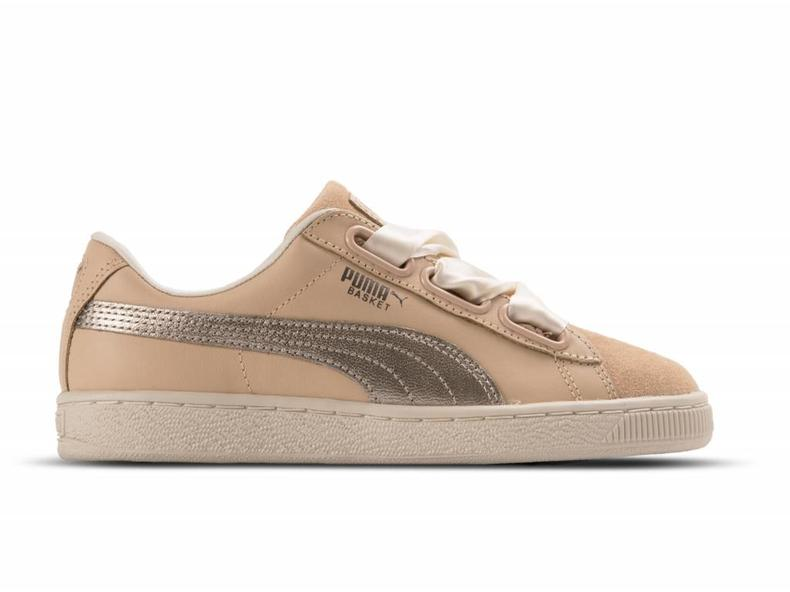 puma damen basket heart up