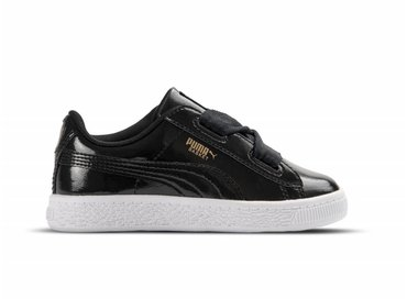 Puma Basket Heart Glam INF Black Black 363895 01