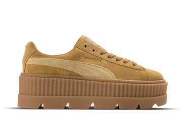 Puma Cleated CreeperSuede WN's Golden Brown Lark 366268 02