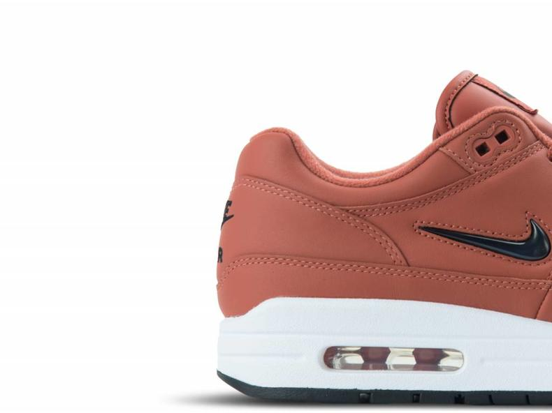 Air Max 1 PRM SC Dusty Peach Black White 918354 200