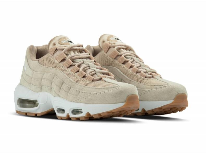 nike wmns air max 95 sd oatmeal white linen black 919924. Black Bedroom Furniture Sets. Home Design Ideas