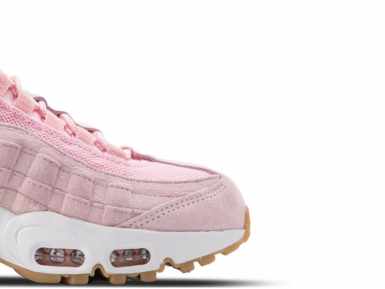 WMNS Air Max 95 SD Prism Pink White Sheen Black 919924 600