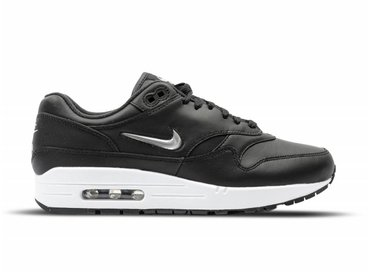Nike Air Max 1 PRM SC Black Metallic Silver White 918354 001
