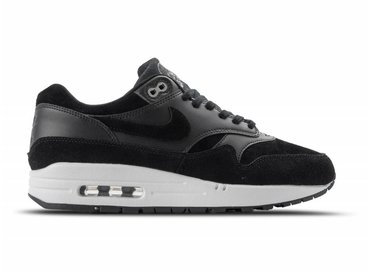 "Nike Air Max 1 PRM Black Chrome 875844 001 ""SKULLS"""